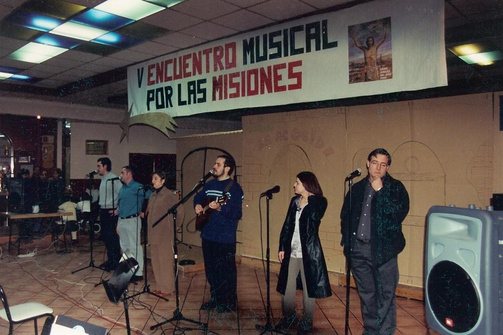 V encuentro musical por las misiones