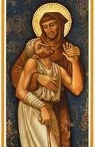 san francisco y el leproso